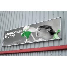 Bannière murale Monsoon