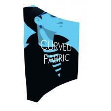 Stand parapluie textile courbe